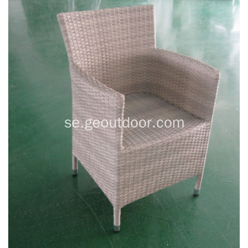 Aluminium Wicker Outdoor Rattan Fritidsstol